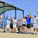 International tennis and fitness club and learning sports center with high performance training full time academy