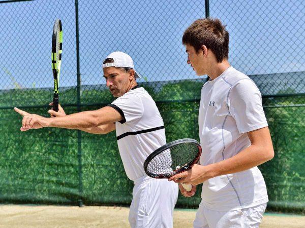 Private tennis lessons on the Caribbean in Dominican Republic, Sosua - Cabarete