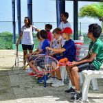8 Group tennis lessons for kids 10 - 15 years old