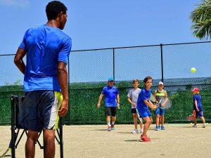 Tennis Juniors Clinics (group lessons) on the Caribbean in Dominican Republic, Sosua - Cabarete