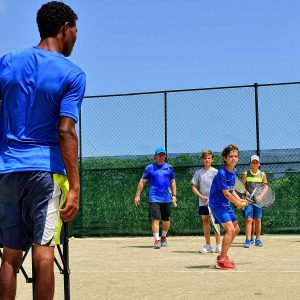 Group Tennis Lesson for Kids 7 - 9 years old