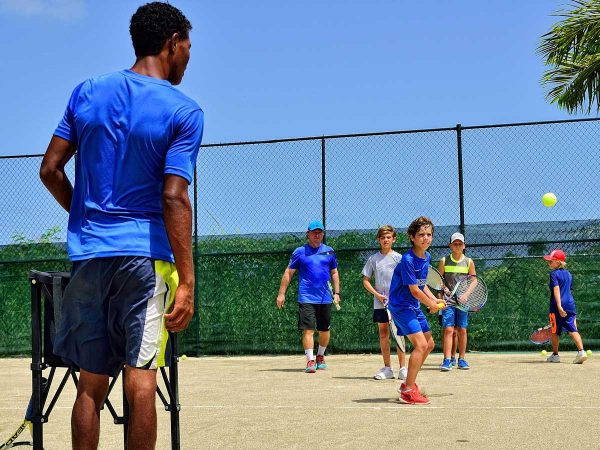 Tennis Juniors Clinics (group lessons) on the Caribbean in Dominican Republic, Sosua - Cabarete