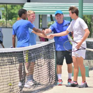 Tennis Adults Group lessons on the Caribbean in Dominican Republic, Sosua - Cabarete