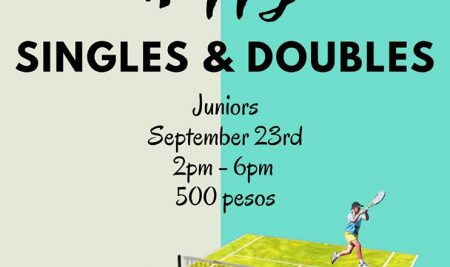 Happy Singles and Doubles – Juniors