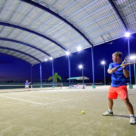 Unlimited Access to the Tennis Courts