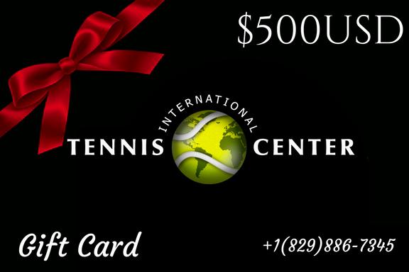 Tennis Gift card