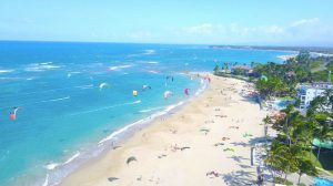 Kitesurfing lessons on Caribbean in Dominican Republic, Sosua - Cabarete.